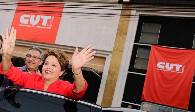 Dilma esteve na plenária da CUT em Guarulhos nesta quinta - Foto: Ichiro Guerra | Divulgação