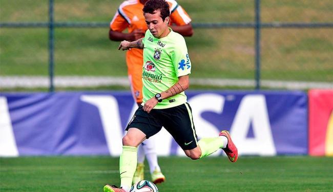 Bernard é uma das opções para substituir Neymar - Foto: Gaspar Nóbrega | Vipcomm
