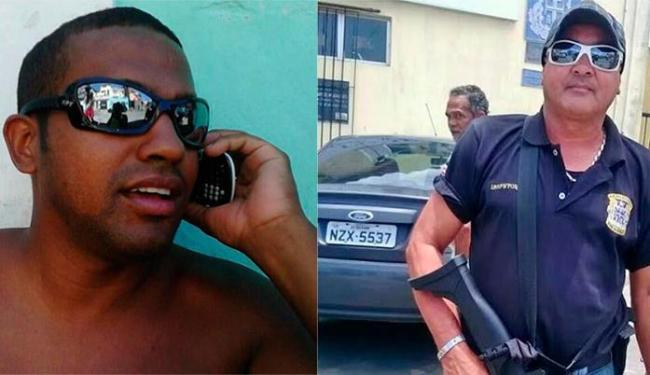 PM Fábio Rosas e policial civil Jorge César foram vítimas de latrocínio - Foto: Reprodução