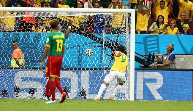 Momento do único gol de Fred no Mundial - Foto: Eduardo Martins   Ag. A TARDE
