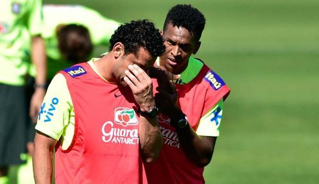 Felipão chegou a testar time sem Fred como titular para o jogo contra a Colômbia - Foto: VIPCOMM