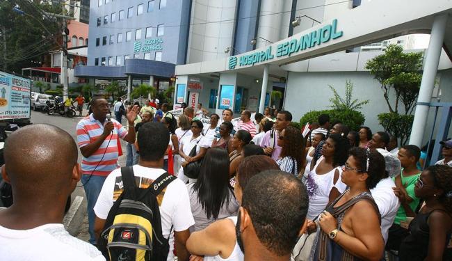 Situação ruim do hospital tem motivado ações dos funcionários desde o ano passado - Foto: Luciano da Matta | Ag. A TARDE | 7.5.2013