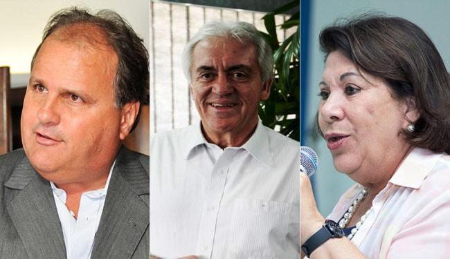 Geddel lidera corrida para o Senado; Otto Alencar é o segundo e Eliana Calmon a terceira colocada - Foto: Erik Salles | Ag. A TARDE, Mila Cordeiro | Ag. A TARDE, Divulgação