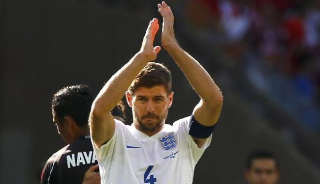 Gerrard atuou em três Copas do Mundo e jogou 114 partidas pela Inglaterra - Foto: Damir Sagolj | Ag. Reuters