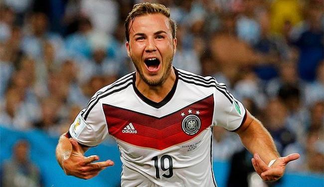 Götze foi o autor do gol que garantiu o título da Alemanha - Foto: Sergio Moraes l Reuters