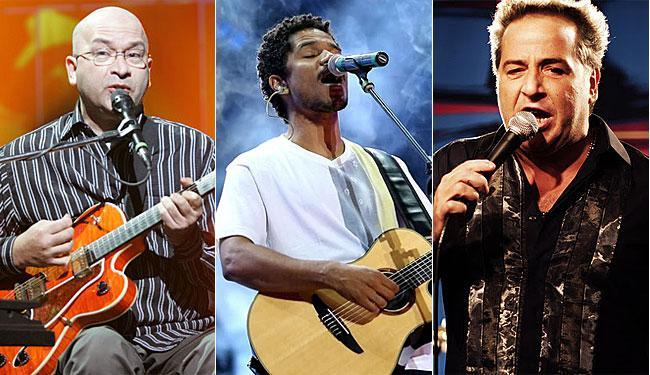 Herbert Vianna, Alexandre Carlo e Nasi comandam as primeiras bandas confirmadas para o Festival - Foto: Reprodução / Jefferson Bernardes / Divulgação