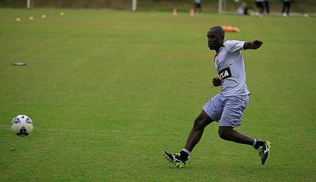 Hugo fez oito jogos com a camisa do Leão e não caiu nas graças da torcida - Foto: Joá Souza | Ag. A TARDE
