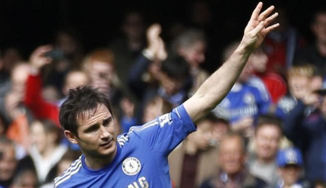 Desde 2001 no Chelsea, Lampard deixa o clube londrino e segue para os EUA - Foto: AP Photo | Sang Tan