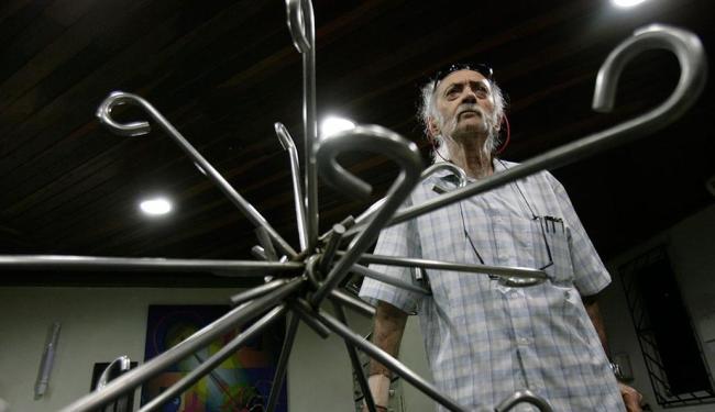 Artista de 91 anos diz que não houve diálogo prévio antes das obras - Foto: Marco Aurélio Martins | Ag. A TARDE