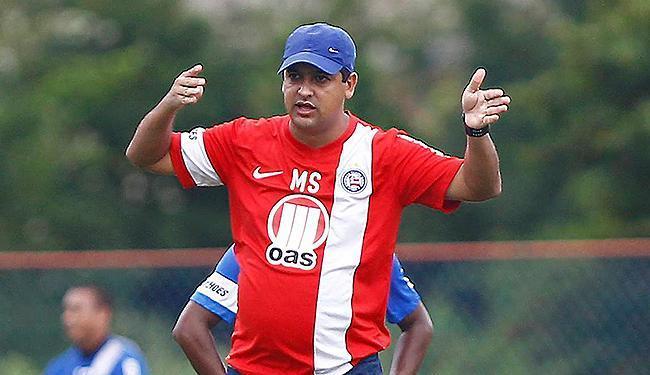 Marquinhos Santos levou apenas uma advertência do STJD - Foto: Eduardo Martins | Ag. A TARDE