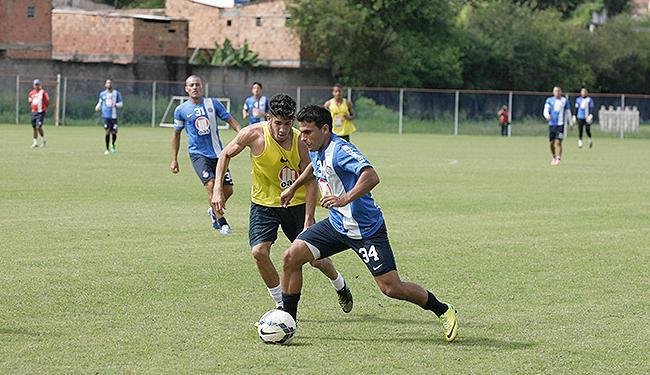 Maxi Biancucchi enfrenta o time sub-20 do Bahia no Fazendão - Foto: Marco Aurélio Martins l Ag. A TARDE