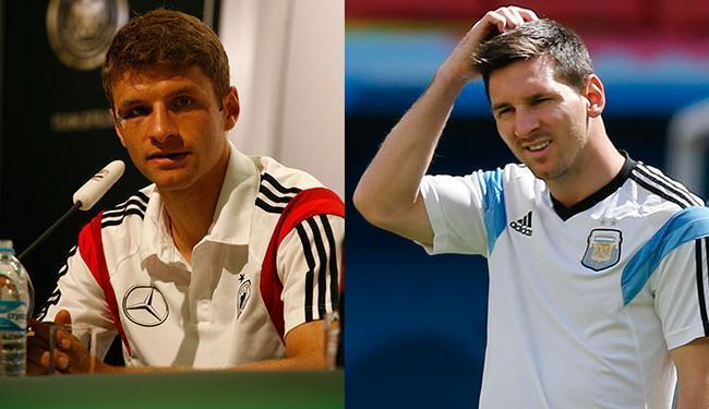 Müller e Messi ainda estão na disputa pela artilharia do Mundial - Foto: Fernando Amorim | Ag. A TARDE e AP