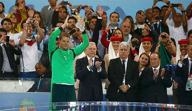 Camisa 1 da Alemanha se destacou após atuar como 'líbero' em alguns jogos - Foto: Kai Pfaffenbach l Reuters