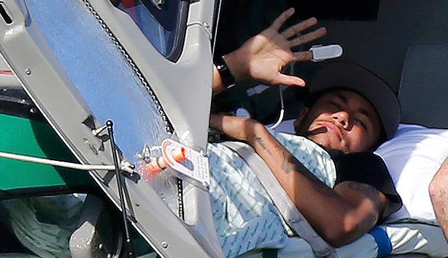 Neymar tenta tratamento alternativo para se recuperar - Foto: Marcelo Regua l Reuetrs
