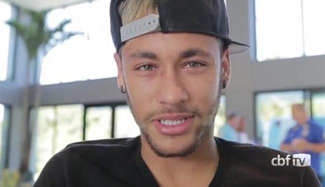 Neymar fraturou a terceira vértebra durante jogo com a Colômbia - Foto: Reprodução