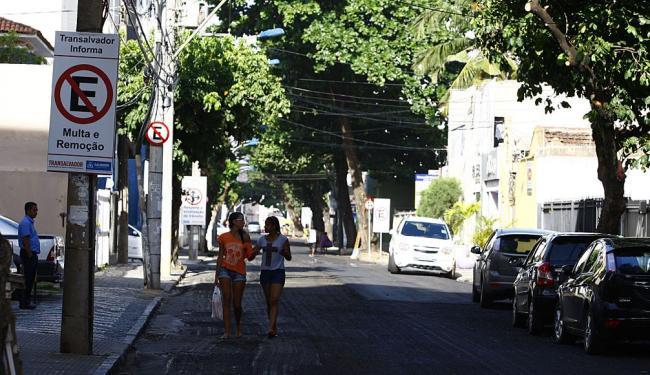 Rua Afonso Celso, na Barra, será a primeira a receber o sistema de Zona Verde - Foto: Fernando Vivas | Ag. A TARDE