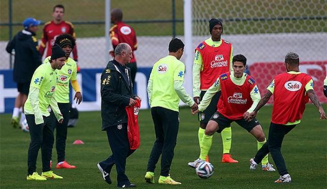 Comissão técnica disse que quantidade de treinos era planejada - Foto: Jefferson Bernardes l VIPCOMM