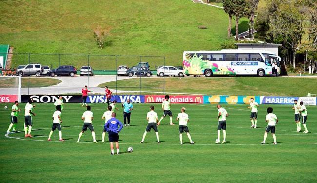 Felipão reforça meio campo com Paulinho, Luiz Gustavo e Fernandinho - Foto: Gaspar Nóbrega | VIPCOMM