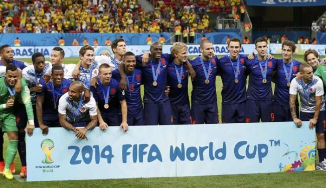 Somente com uma derrota nos pênaltis, a Holanda se despede da Copa com 3ª colocação - Foto: Jorge Silva | Ag. Reuters