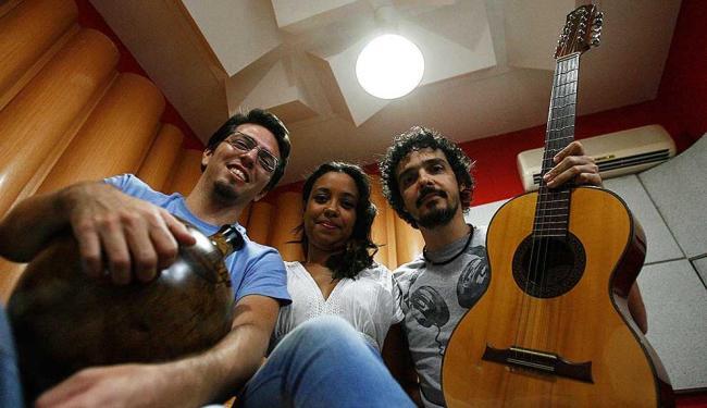 Diogo Flórez, Aiace e Anderson Cunha, o núcleo central do Sertanília - Foto: Fernando Amorim | Ag. A TARDE