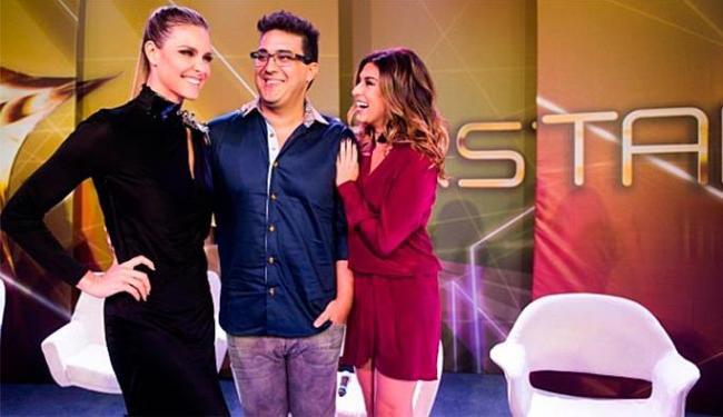 Apresentadores Fernanda, André e Fernanda comemoram a repercussão da atração - Foto: TV Globo   Divulgação
