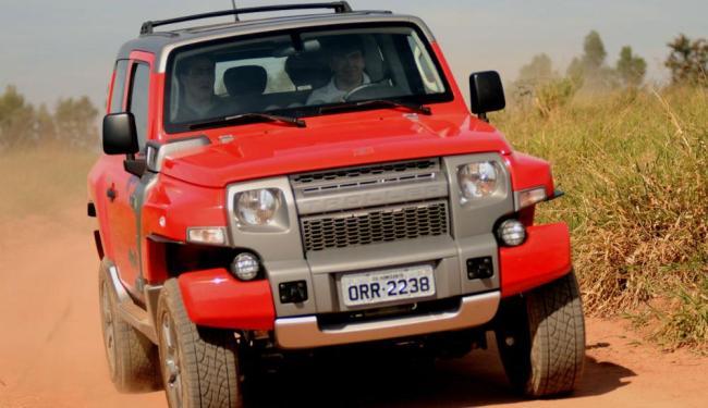 Com preço sugerido de R$ 110.990, o T4 chega com tudo para garantir seu espaço no mundo dos veículos - Foto: Troller | Divulgação