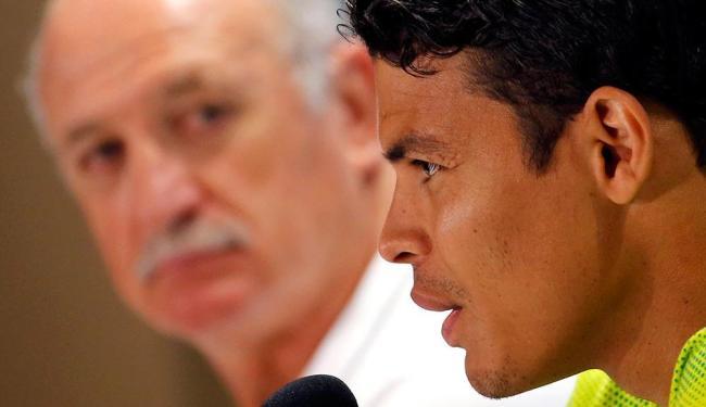 O zagueiro Thiago Silva também pediu