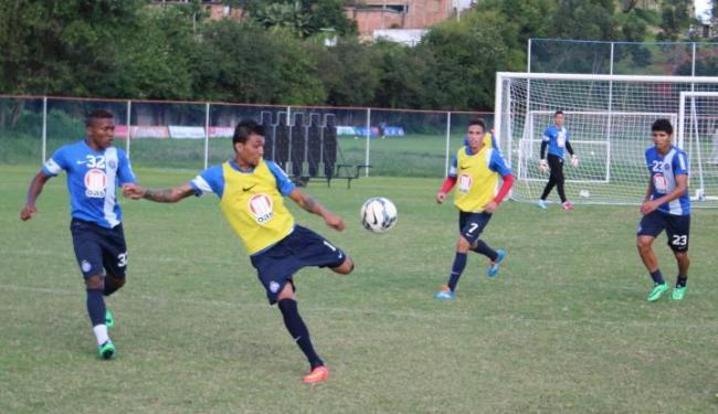 Jogadores treinaram com bola no campo do Fazendão - Foto: Divulgação | E.C Bahia