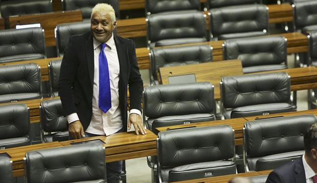 Tiririca concorre à reeleição para deputado federal pelo PR-SP - Foto: Fábio Rodrigues Pozzebom | Ag. Brasil | 20.02.2013