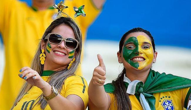 Torcedores ainda acreditam que o Brasil irá conquistar o hexa - Foto: Jefferson Bernardes l VIPCOMM