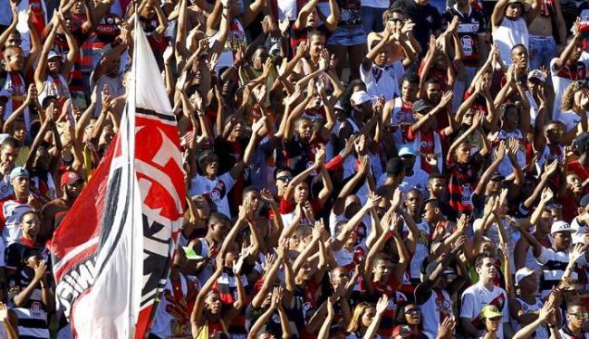Vitória x Corinthians marcará o retorno da torcida rubro-negra ao Barradão - Foto: Eduardo Martins | Ag. A TARDE