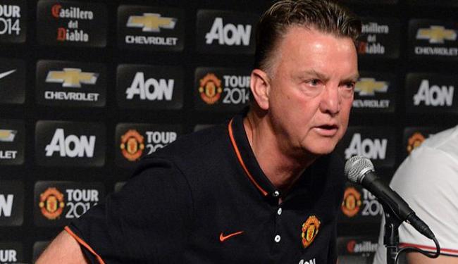 Van Gaal elogiou desempenho da equipe inglesa em jogo de pré-temporada - Foto: Jayne Kamin | Ag. Reuters