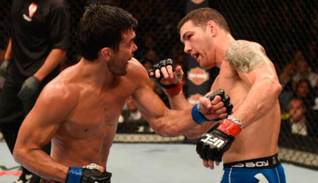 Vitória mantém cinturão com Weidman - Foto: Divulgação   UFC