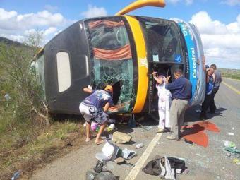 Outros 31 passageiros ficaram feridos - Foto: Itaberaba Notícias