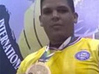 Alexandre Nascimento foi o campeão mundial da categoria pesadíssimo - Foto: Divulgação l E.C. Bahia