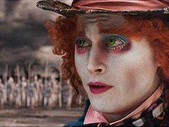 Johnny Depp volta a ser o Chapeleiro Maluco em
