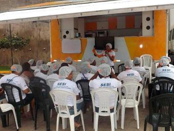 O programa oferece cursos com o objetivo de promover a melhoria na qualidade da alimentação - Foto: Divulgação | ASCOM Bahia Norte