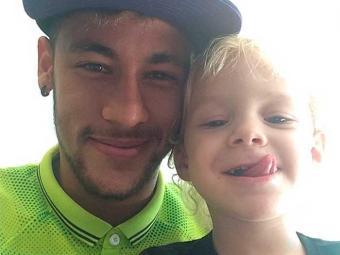 Davi Lucca, de 3 anos, é filho do jogador com Carol Dantas - Foto: Instagram   Reprodução