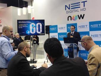Estande da NET na ABTA 2014: operadora investe alto e mira expansão no Nordeste - Foto: NET | Divulgação