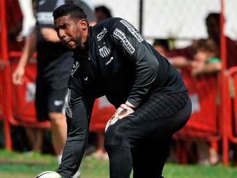 Torcedores chamaram goleiro de macaco - Foto: Reprodução   Santos Futebol Clube