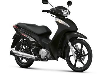 A biz 125 vem nas versões ES e EX e motor OHC, monocilíndrico, de quatro tempos, que rende 9,1 cv - Foto: Honda | Divulgação