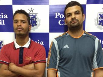 Jadielson e Maurício foram apresentados nesta quinta-feira, 14 - Foto: Ascom | Polícia Civil