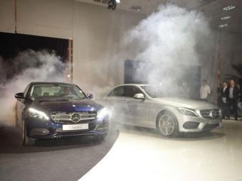 Quatro versões do sedã da MB - Foto: Mercedes-Benz