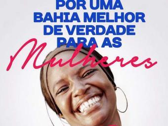 Cartaz convida para inauguração de comitê feminino - Foto: Divulgação