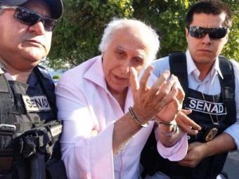 Médico Roger Abdelmassih foi condenado por múltiplos estupros - Foto: Divulgação   Secretaria Nacional Antidrogas do Paraguai