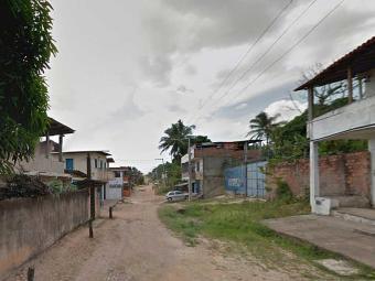 Festa acontecia na rua do Guiné quando homens chegaram atirando - Foto: Reprodução | Street View