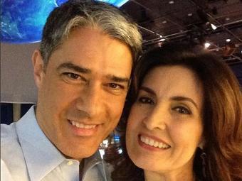William Bonner e Fátima Bernardes se manifestaram contra atitudes desrespeitosas nas redes - Foto: Reprodução | Instagram