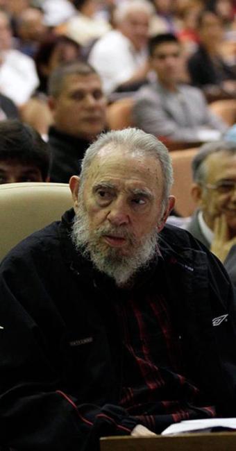 Fidel Castro durante Assembleia Nacional do Poder Popular, em 2013 - Foto: Agência Reuters