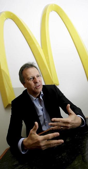 Fred Luz, franqueado da rede McDonald's em Salvador - Foto: Marco Aurélio Martins | Ag. A TARDE