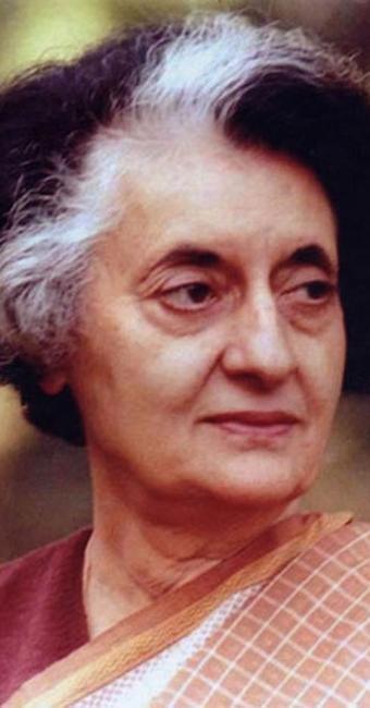 Indira Gandhi foi assassinada em 31 de outubro de 1984 - Foto: Reprodução